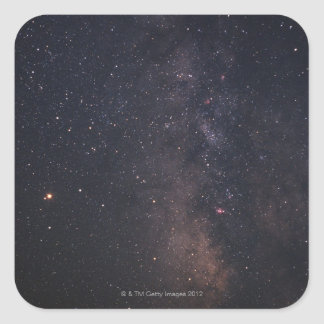 Sagittarius and Milky Way Square Sticker