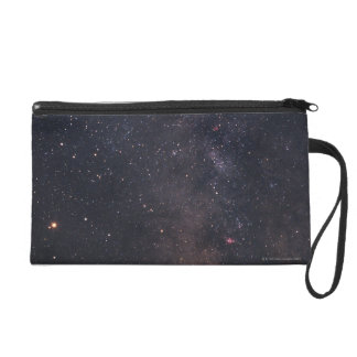 Sagittarius and Milky Way Wristlet Clutch