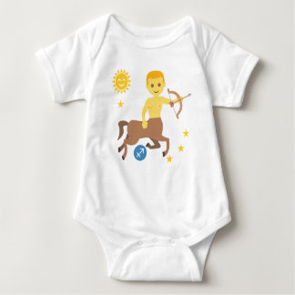 Sagittarius archer baby bodysuit zodiac star sign