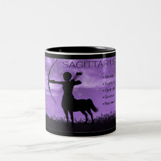 Sagittarius Archer Zodiac Mug with Traits