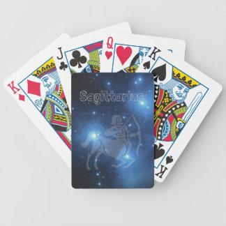 Sagittarius Bicycle Playing Cards