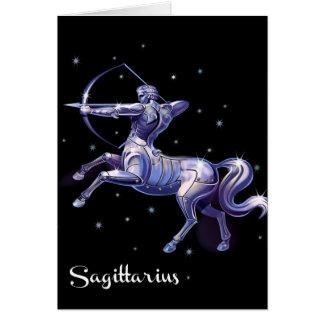 Sagittarius Birthday Card