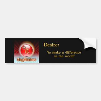 SAGITTARIUS Bumper Sticker