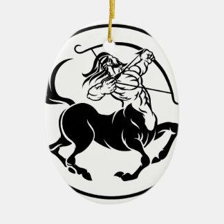 Sagittarius Centaur Zodiac Horoscope Sign Christmas Ornament