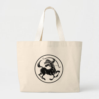 Sagittarius Centaur Zodiac Horoscope Sign Large Tote Bag