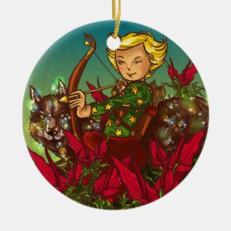 Sagittarius Christmas Ornament