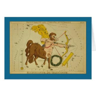 Sagittarius Constellation Card