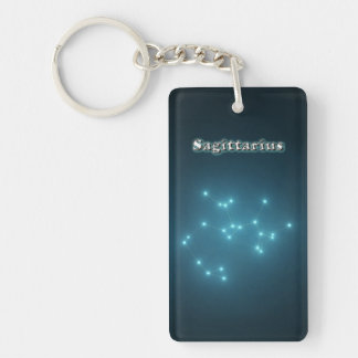Sagittarius constellation key ring
