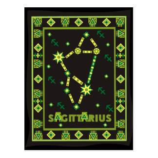 Sagittarius Constellation Postcard