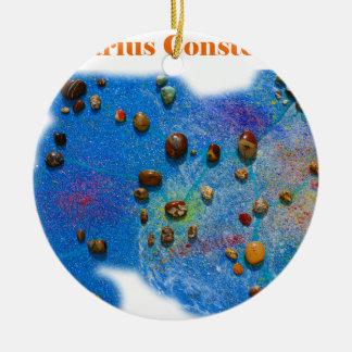 Sagittarius Constellation Round Ceramic Decoration