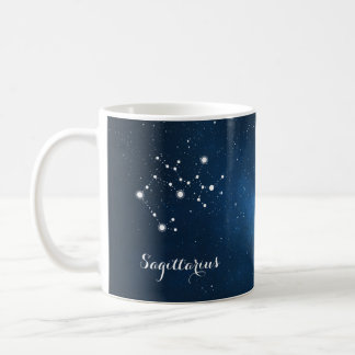 Sagittarius Constellation Zodiac Star Sign Coffee Mug