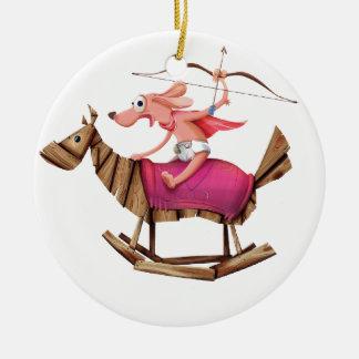 Sagittarius Dog Christmas Ornament