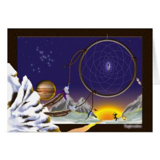 Sagittarius Dreaming Card