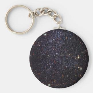 Sagittarius Dwarf Galaxy Basic Round Button Key Ring