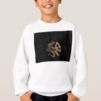 Sagittarius golden sign sweatshirt