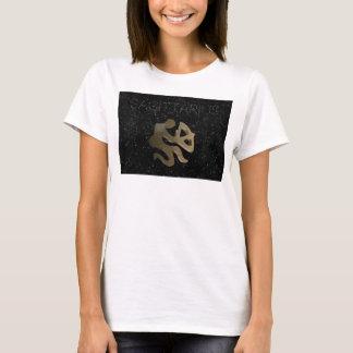 Sagittarius golden sign T-Shirt