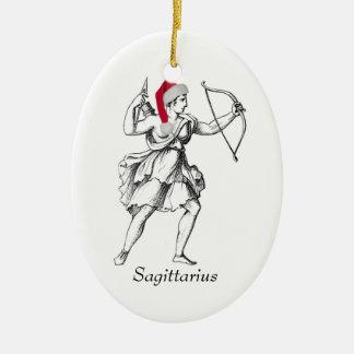 Sagittarius Holiday Ornament