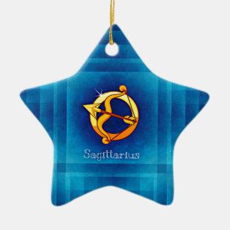 sagittarius horoscope ceramic star decoration