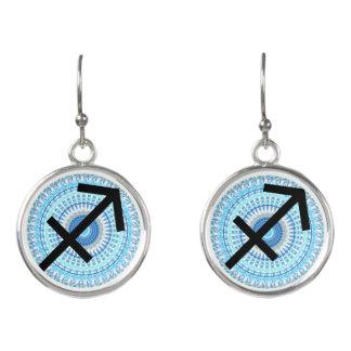 Sagittarius Horoscope Zodiac Astrology Earrings
