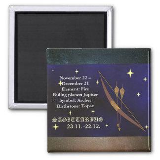 Sagittarius Horoscope Zodiac Astrology Magnet