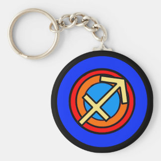 SAGITTARIUS KEY RING