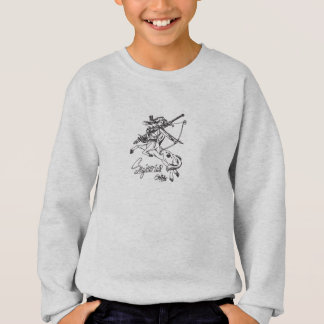 Sagittarius Kid Sweatshirt Sag Sweater Astrology