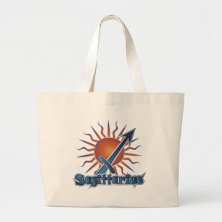 Sagittarius Large Tote Bag