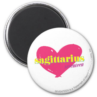Sagittarius 6 Cm Round Magnet