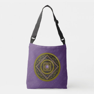 Sagittarius Mandala All-Over-Print Bag