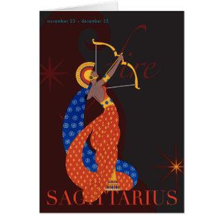 Sagittarius Note Note Card