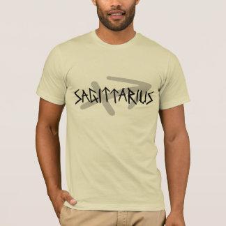 Sagittarius Primal Text Shirt