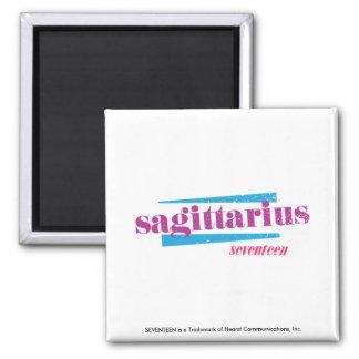 Sagittarius Purple Refrigerator Magnets