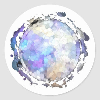 Sagittarius Purple Moon Sticker