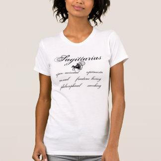 Sagittarius Shadow Traits T-Shirt Tees
