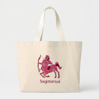 Sagittarius Sign Canvas Bag