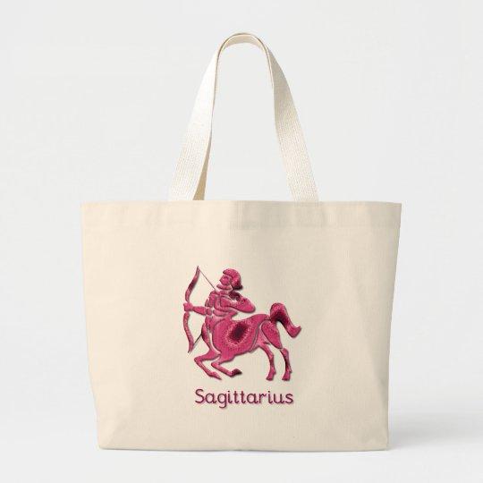 Sagittarius Sign Canvas Bag
