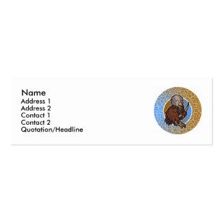 Sagittarius Skinny Cards Business Card Templates