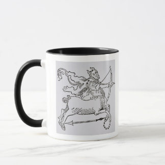 Sagittarius (the Centaur) an illustration from the Mug
