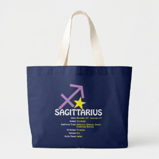 Sagittarius Traits Dark Tote