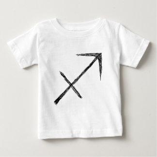 Sagittarius. Zodiac Astrology Sign. Baby T-Shirt