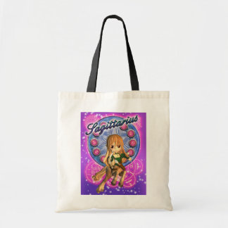 Sagittarius Zodiac Bag With Cute Female Centaur