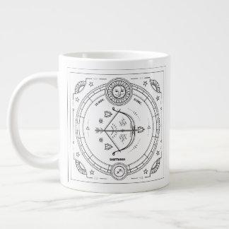 Sagittarius Zodiac Custom Birthday Mug