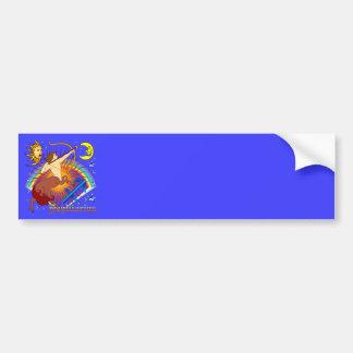 Sagittarius-Zodiac-Design-V-1 Car Bumper Sticker