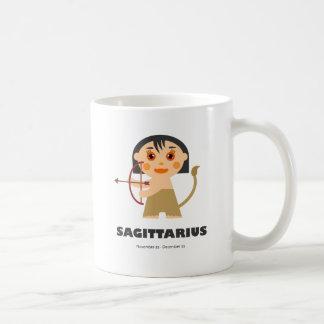Sagittarius Zodiac for kids Classic White Coffee Mug
