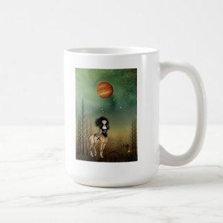 Sagittarius Zodiac Girl Beverage Mug