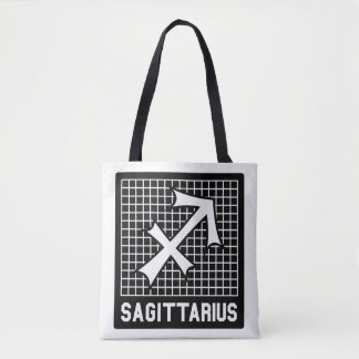 Sagittarius Zodiac Sign Tote Bag