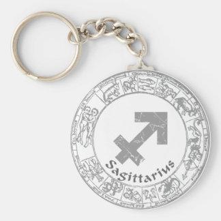 Sagittarius Zodiac sign vintage Key Chains