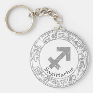 Sagittarius Zodiac sign vintage Key Chain