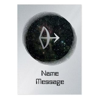 Sagittarius Zodiac Star Sign Universe Business Card