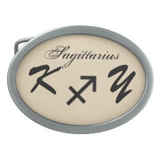 Sagittarius Zodiac Symbol Standard by K Yoncich Belt Buckles